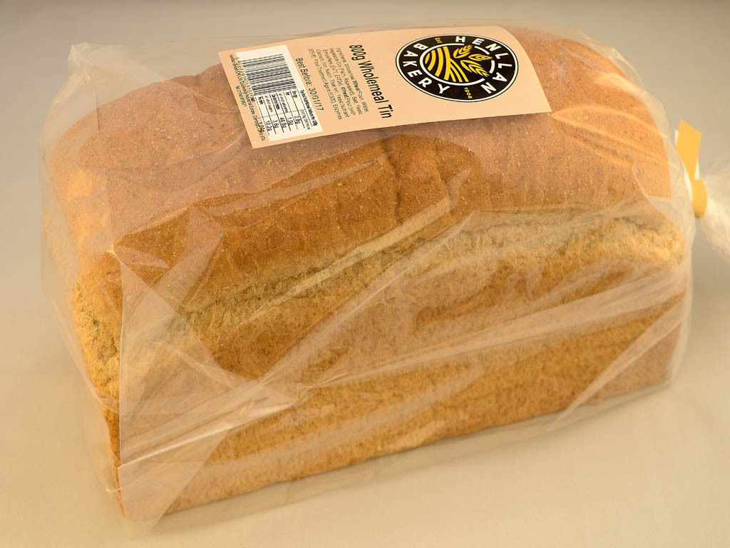 Henllan Bakery - Wholemeal Tin