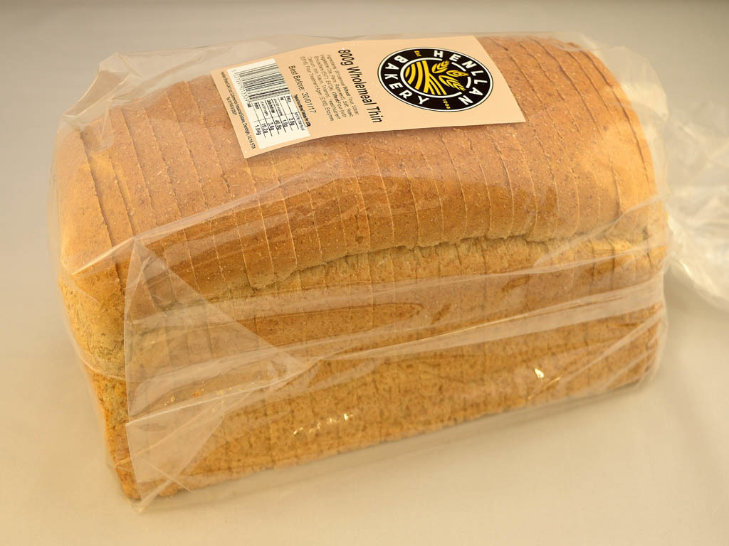 Henllan Bakery - Wholemeal Thin