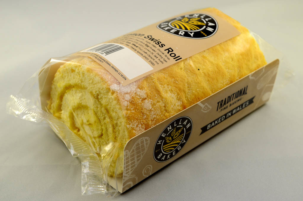 Henllan Bakery - Lemon Swiss Roll