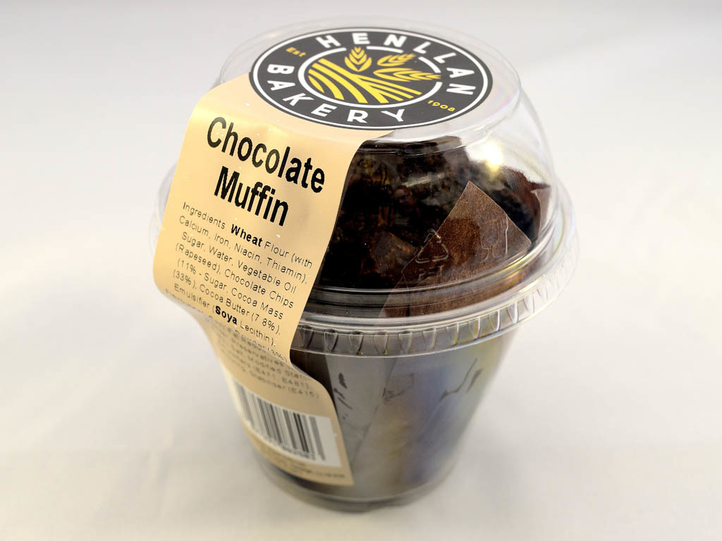 Henllan Bakery - Muffin Chocolate