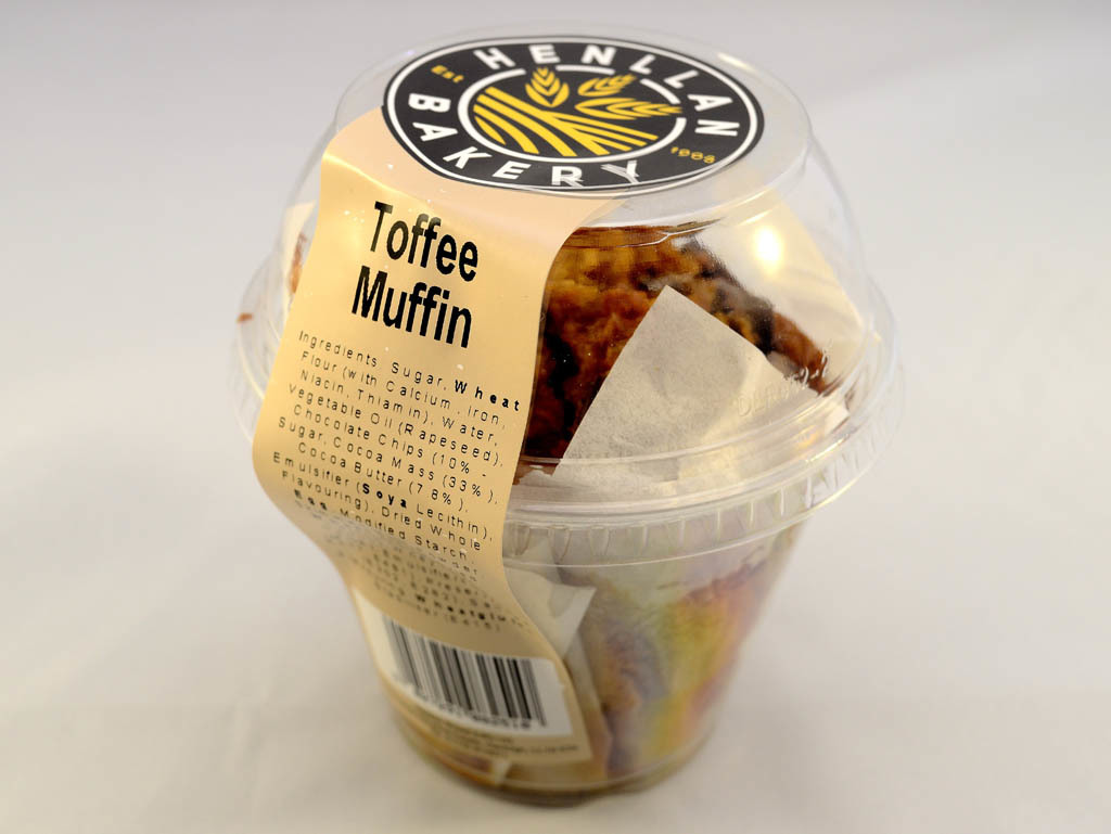 Henllan Bakery - Muffin Toffee